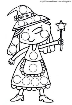 witch coloring page Witch Theme Party, Theme Halloween, Pretty Halloween, Halloween Patterns, Halloween Crafts For Kids, Holidays Halloween, Witch Coloring Pages, Coloring Books, Halloween Coloring Pictures