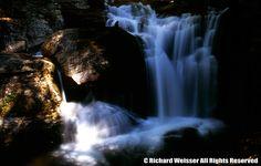 Duke Creek Falls near Helen, GA