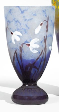 daum perce-neige vase ||| object ||| sotheby's n09650lot98jwsen