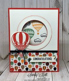 Lift Me Up Bundle from Stampin' Up! - Created by Sandy Mott, The Scrap n' Stamp Shop