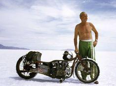 Finally Watched World's Fastest Indian - this is the man himself Burt Munro . - Jim Glover - - Finally Watched World's Fastest Indian - this is the man himself Burt Munro . Vintage Honda Motorcycles, British Motorcycles, Custom Motorcycles, Indian Motorcycles, Custom Moped, Custom Choppers, Triumph Motorcycles, Custom Bikes, Bagger Motorcycle