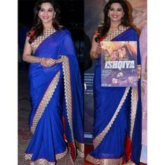 Buy Bollywood Celebrity Madhuri Dixit Saree - Dealtz.com
