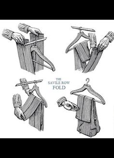 The Savile Row Fold