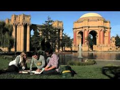 University of San Francisco Commercial... didn't we all sit around the touristy places to study?? HA!