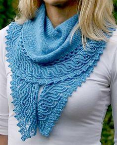 """Best 12 Ravelry: """"Ho'okipa"""" shawl by Paulina Popiolek Arm Knitting, Knitting Stitches, Knitting Patterns, Crochet Patterns, Knit Or Crochet, Crochet Shawl, Shawl Patterns, Knitted Shawls, Knit Scarves"""