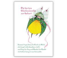 Die gute Fee gratuliert zur Geburt/ Baby mit schönem Spruch - http://www.1agrusskarten.de/shop/die-gute-fee-gratuliert-zur-geburt-baby-mit-schonem-spruch/    00018_0_1189, Baby, Geburt, Glücksfee, Grußkarte, gute Fee, Klappkarte, Märchen, Schutzengel00018_0_1189, Baby, Geburt, Glücksfee, Grußkarte, gute Fee, Klappkarte, Märchen, Schutzengel
