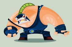 Impressive #Character & #Superhero #Illustrations by Ivan Camelo, #Avengers…