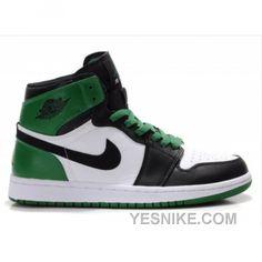 separation shoes dffce d75c4 Air Jordan Retro 1 High Boston Celtics White Black Green 332550-101  63.00  Air