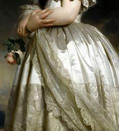 Queen Victoria b y Winterhalter  -Click to enlarge
