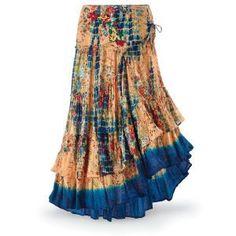 Bianca Boho Skirt - New Age & Spiritual Gifts at Pyramid