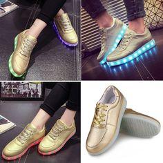 Tênis de Led (quero o preto) http://pt.dresslink.com/unisex-cool-led-light-shoes-lace-up-casual-sportswear-luminous-flat-sneaker-shoes-p-34272.html?utm_source=Youtube&utm_medium=cpc&utm_campaign=WFF1324