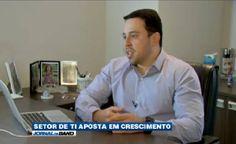 O setor de tecnologia da informação apresenta crescimento e ontem foi tema de uma das reportagens do Jornal da Band com participação da Inmetrcis. Assista:  http://ift.tt/1WGwYo7