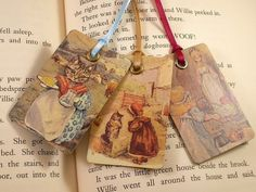 Storytime Bookmarks from Formica Laminate sample chips