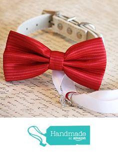 Unique Dog Collars, Handmade Dog Collars, Cat Bow Tie, Bow Tie Collar, Dog Wedding Dress, Red Wedding, Christmas Proposal, Beaded Dog Collar, Wedding Planning