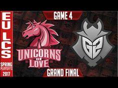 UOL vs G2 Game 4 - Grand Final EU LCS Playoffs Spring 2017 - Unicorns of Love vs G2 Esports G4