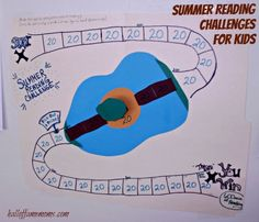 Our Summer Reading Chart / Challenge and a List of Summer Reading Reward Programs - Hall of Fame Moms | Ohio Blog