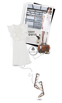 """""""The Little White Dress!!!"""" by alves-nogueira ❤ liked on Polyvore featuring Giambattista Valli, Paula Dorf, women's clothing, women's fashion, women, female, woman, misses, juniors and trend"""