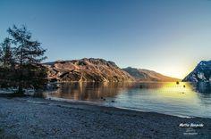 "Photo ""Last sunset of 2012, Lake Garda, Italy"" by Mattia Bonavida (@MattiaBonavida) #500px http://500px.com/photo/22606989"