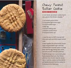 Alton Brown Chewy Peanut Butter Cookie Recipe ( Everydaycook) Gluten Free by accident