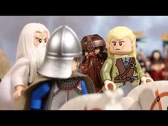 LEGO Battle at the Black Gate (Lord of the Rings) / #lego #lotr