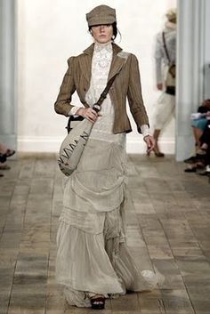 The Fashionista's BlackBook: Ralph Lauren Spring/Summer 2011 RTW Collection|New York Fashion Week