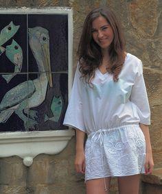 #vestido#Elena Urrutia#blanco#verano
