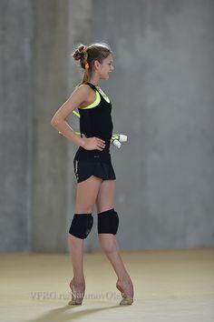 Aleksandra Soldatova (Russia) in training camp in Israel, 2015