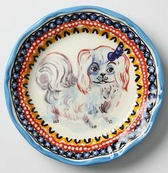 Nathalie Lete plate from Anthropologie