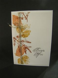 Prototype Thank You Card