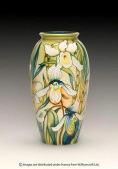 MOORCROFT Pottery Design: Butterfly Tears Designer: Rachel Bishop ...