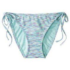 Xhilaration® Junior's Side Tie Swim Bottom -Multicolor