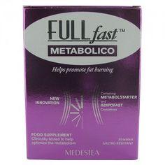 FULLfast METABOLICO - Le capsule dimagranti per accelerare il metabolismo di FULLfast METABOLICO sono formulate con i due innovativi complessi dimagranti METABOLSTARTER e ADIPOFAST. Scopri   questo nuovo prodotto naturale su #WeightWorldItalia.