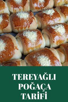 Tereyağlı Poğaça Tarifi Hamburger, Food And Drink, Bread, Hamburgers, Brot, Breads, Baking, Burgers, Bakeries