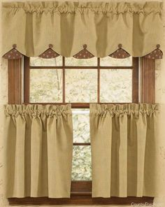 Grandma's Quilt Scalloped Curtain Valance by Park Designs at The Country Porch
