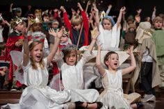 """Glory to God in the Highest, and on earth, peace and goodwill to men!""   CPA Preschool Christmas Pageant"
