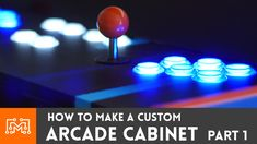 Check out the 3 part series of how I made a custom arcade cabinet from scratch! Plans are available so you can make your own!