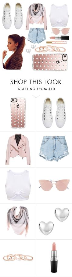 """🎆🎆"" by jade-mcarthur24 ❤ liked on Polyvore featuring Casetify, Converse, Nobody Denim, So.Ya, Kendra Scott, MAC Cosmetics and Tory Burch"