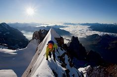 Holy #&*@!  Climber Jonathan Griffith took this photo on Mont Blanc. See Sierra Magazine for more pics: bit.ly/xRUXR4