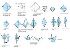 peace crane instructions - Google Search
