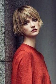 New Ideas For Hair Cuts Ideas Hairdresser Short Haircut, Short Bob Hairstyles, Wig Hairstyles, Sassy Haircuts, Hair Inspo, Hair Inspiration, Corte Y Color, Mi Long, Great Hair