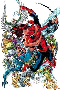 Amazing Spider-man #500/Search//Home/ Comic Art Community GALLERY OF COMIC ART