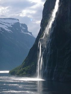 norway fjord nature landscape scandinavia