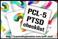 PCL-5 PTSD Checklist Questionnaire - screen yourself for PTSD -  visit http://traumadissociation.com/pcl5-ptsd