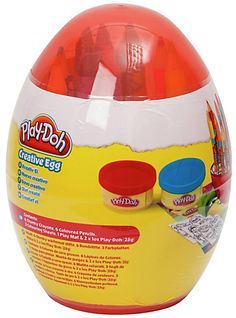 Play-Doh Creative Egg Easter Toys, Toy Craft, Play Doh, Arts And Crafts, Eggs, Creative, How To Make, Fun, Egg