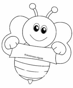 Balın oluşumu Colouring Pages, Coloring Books, Sea Animal Crafts, Cute Bee, Olay, Painting For Kids, Preschool, Sketches, Kids Rugs