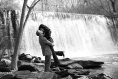 waterfall engagement picture