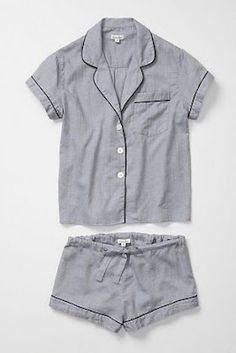 I am obsessed in sleeping in pajama sets. I cannot just sleep in a ratty tshirt and shorts. it needs to be cute and match.