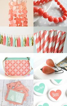 Diving for Corals by Katerina ♡ Orestis on Etsy--Pinned with TreasuryPin.com Corals, Diving, Sunglasses Case, Bride, Bags, Etsy, Wedding Bride, Handbags, Scuba Diving