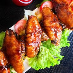 Miki's Food Archives : Cola Sticky Chicken Wings 可乐鸡翅膀