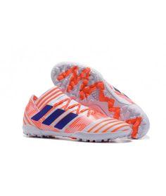 official photos 1fbc5 a0d54 Adidas Nemeziz 17.3 TF NA UMĚLÝ POVRCH ACC oranžový bílá modrý kopačky.  Chaussure De FootBlanc BleuSoldes ChaussuresNikeChaussures FootVente ...
